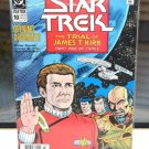 Star Trek DC Comic Book 10 Jul 1990 Opening Arguments Trial of James T. Kirk 1
