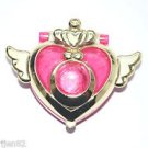 Sailor Moon heart transformation brooch crisis compact candy toy locket ring set