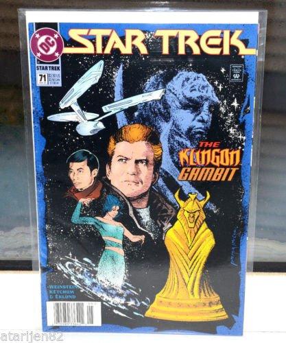 EUC Star Trek DC Comic Book 71 May 95 collectible vintage The Klingon Gambit