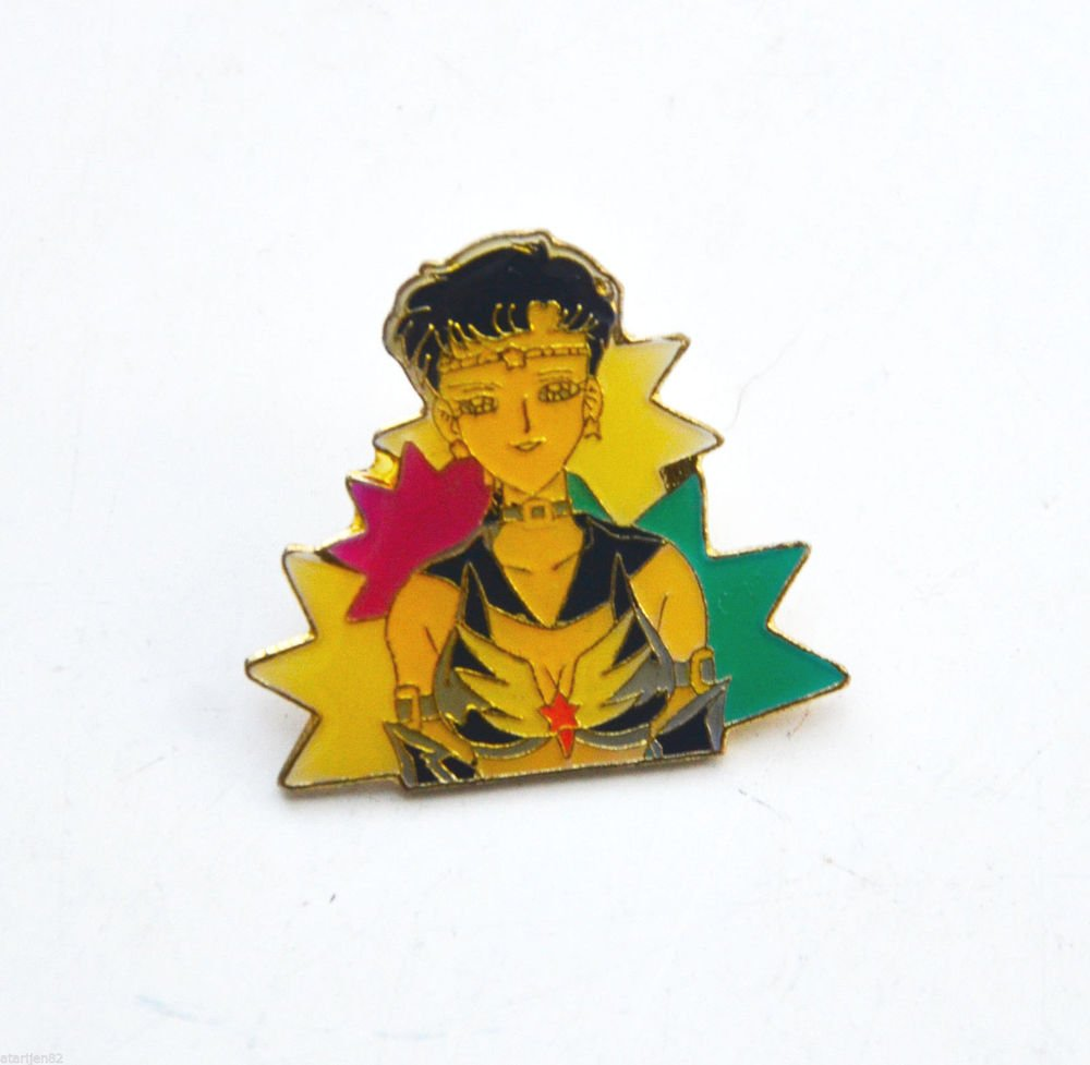 Sailor Moon metal enamel pin T.K.TA.T Star Fighter Kou Seiya Starlights