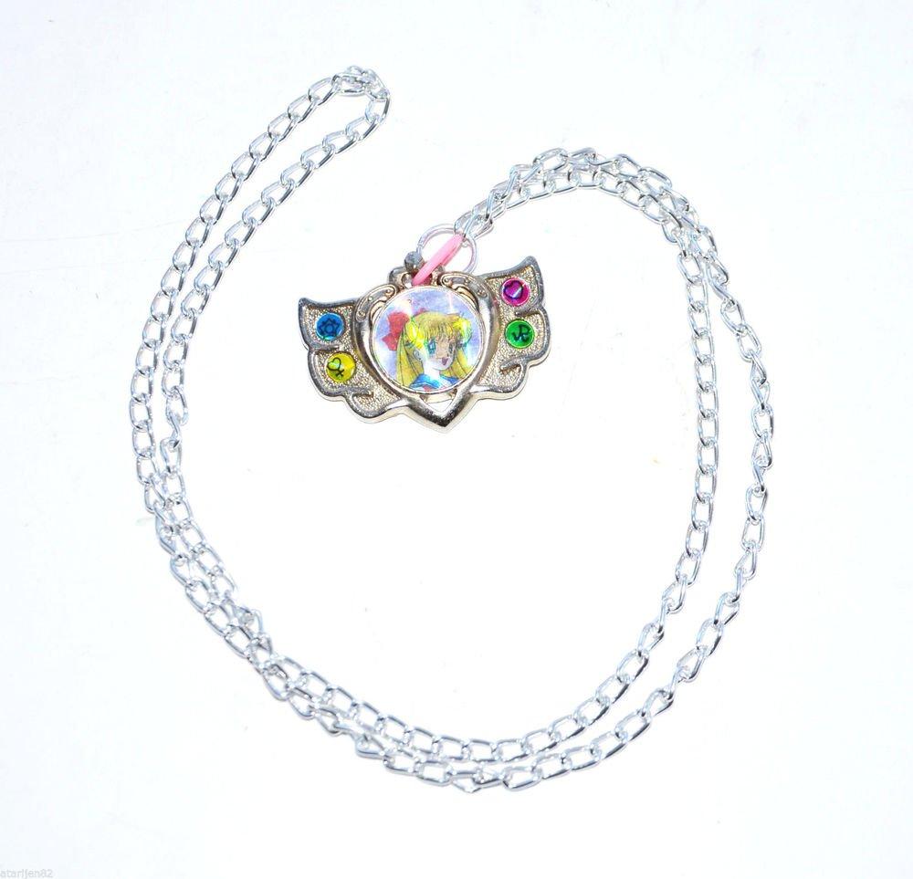 Sailor Moon 90's Venus eternal locket metal chain jewelry made in Japan Japanese