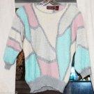 Vtg vintage Ultimate Ugly Christmas Sweater M size medium angora lambswool Korea