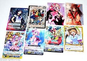Japanese Japan trading card lot 8 card game Vanguard Love Hina Phantasmagoria