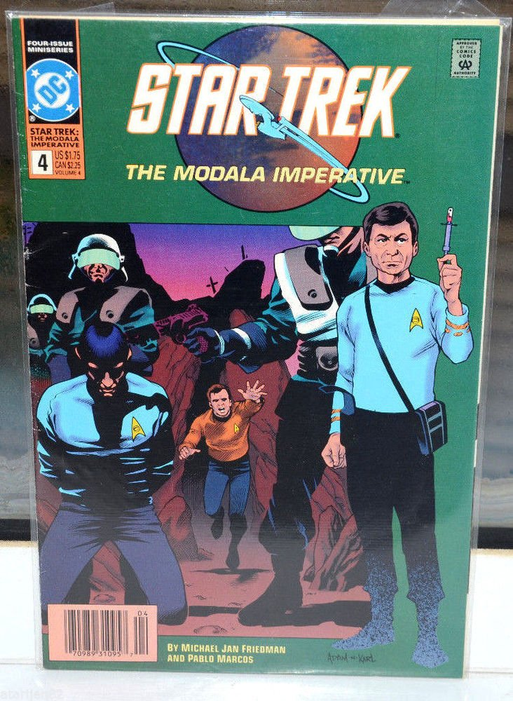 Star Trek DC 4 1993 Comic Book 4 collectible Vintage The Modala Imperative