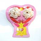 NEW Sailor Moon World Yutaka Japan hair tie pearl jewelry crystal carillon bell