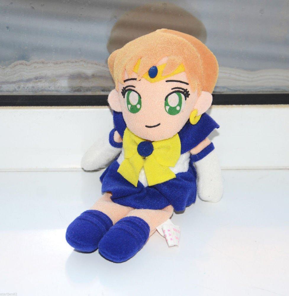 Sailor Moon Uranus plush doll plushie Banpresto stuffed toy UFO beanie figure