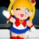 1994 Banpresto Sailor Moon plush doll plushie stuffed toy wink wave anime japan