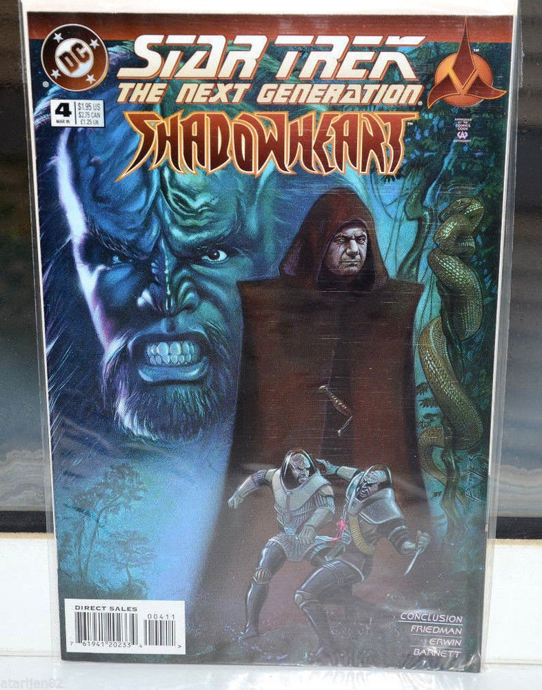 EUC Star Trek The Next Generation DC Comic Book 4 Mar 1995 95 Shadowheart