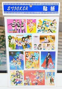 Sailor Moon huge sticker sheet