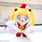 Super Sailor Moon Christmas plush doll stuffed toy Tuxedo Mask