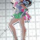 Sailor Moon large prism sticker prismatic Sailor Jupiter decal pose