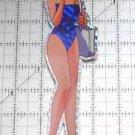 Sailor Moon large prism sticker prismatic Sailor Mercury decal swimsuit bathing