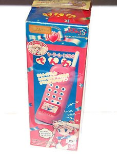 Sailor Moon S toy phone Denwa Japan Bandai Japanese 1994