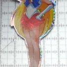 Sailor Moon large prism sticker prismatic Sailor Venus decal pose