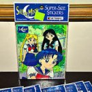 Sailor Moon sticker sheet Super Size stickers 1998 Artbox American vintage