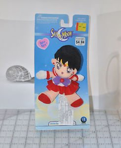 Sailor Mars Collectible beanie plush stuffed toy Sailor Moon vintage Irwin