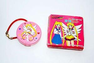 Eternal Sailor Moon Stars locket compact Mirror Watch Clock Japan