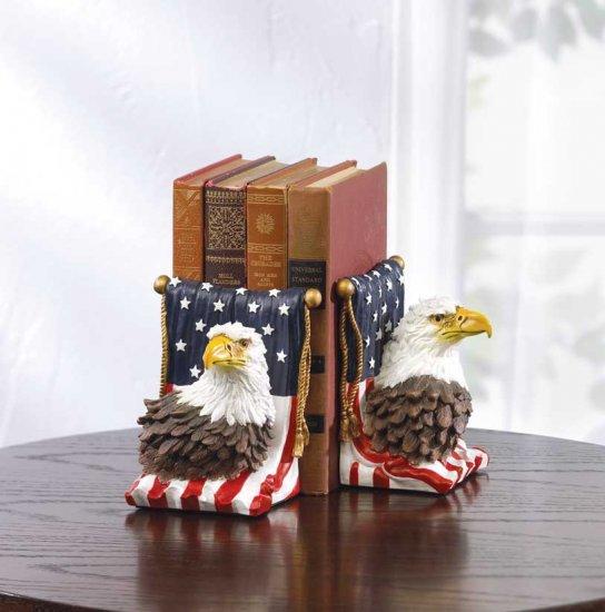 AMERICAN EAGLE BOOKENDS