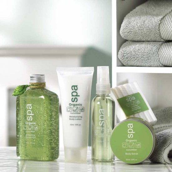 CUCUMBER ORGANIC SPA GIFT SET