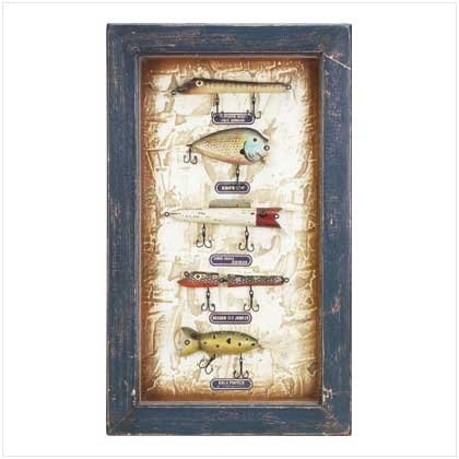 FISHING LURES SHADOW BOX
