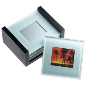 Glass Coasters with Picture inserts