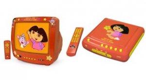 Dora the Explorer DVD Player with Dora the Explorer 13in TV Combo