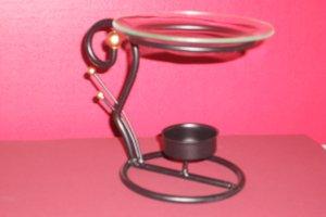 Art Deco Oil Warmer