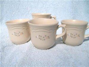 PFALTZGRAFF REMEMBRANCE COFFEE CUPS - SET OF 4