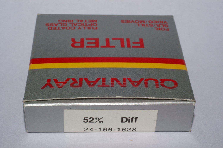 Quantaray 52 mm Diffusion Filter