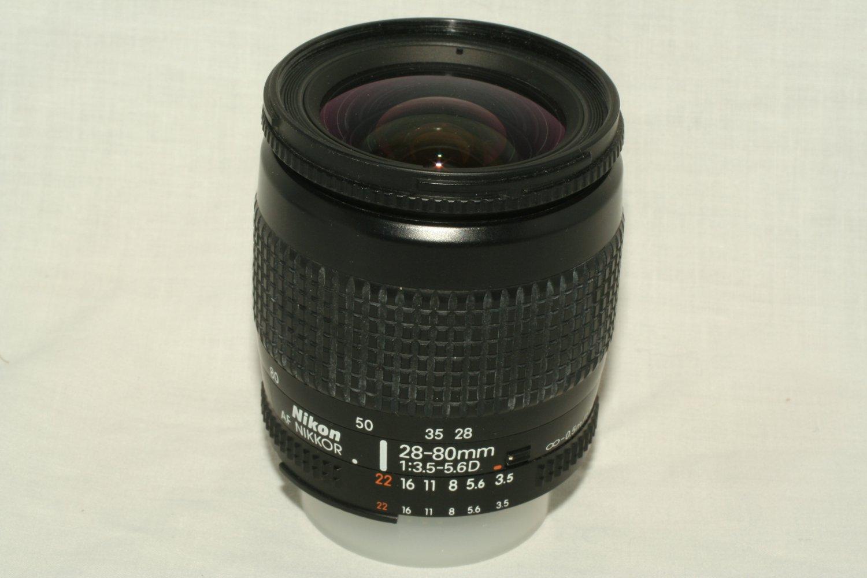 Nikon Nikkor 28-80mm f3.5-f5.6D AF Macro Zoom