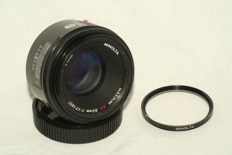 Minolta Maxxum AF 50mm 1:1.7 (22) lens