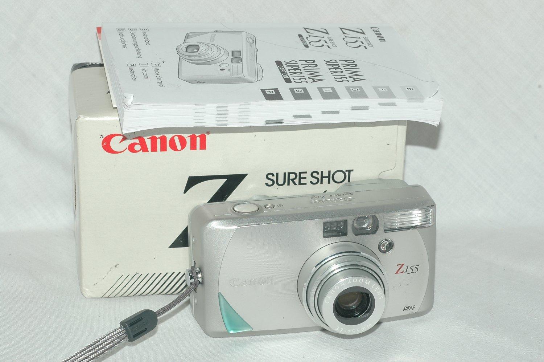 Canon Sure Shot Z155 35mm film camera