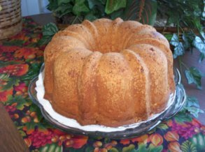 The Cheesecakery's Lemon Blueberry Pound Cake