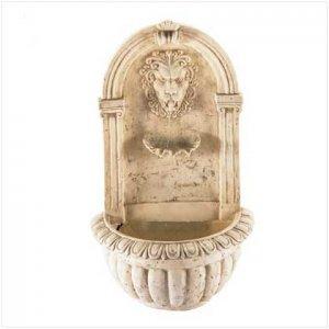 Lions Heaad Wall Fountain
