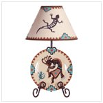 Kokopelli Lamp