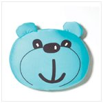 Bear Head Boba Pillow