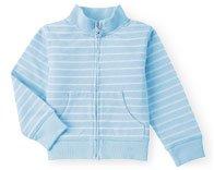 Gymboree Dandelion Wishes Blue/White Striped Jacket ~ Size 5 ~ GUC