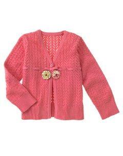 Gymboree Primrose Pink Sweater Cardigan ~ Size 4 ~ Like New!