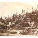 Real Photo of Triumph Hill oil field, 1907