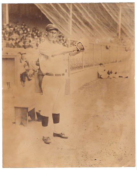 "Real Photo-Edward ""Slim"" Love, New York (AL) baseball"