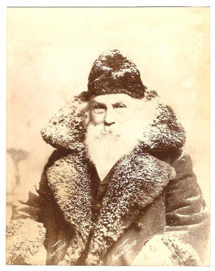 Real Photo of Santa Claus, 1895