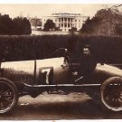 "Real Photo of ""The Cootie,"" a racing car, parked near the White House in Washington, D.C., 1922"