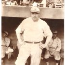 Real Photo of Babe Ruth, New York American League Baseball
