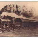 Real Photo of Prize locomotive 999 and the prize Wagner Palace car train, 1894