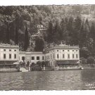 "Real Photo Postcard (RPPC) of ""VILLA TAVERNA"", on Como Lake, TORNO , Italy"