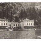 "Real Photo Postcard (RPPC) of ""VILLA TAVERNA"", on Como Lake, TORNO , Italy"