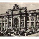 "Real Photo Postcard (RPPC) of ""Fontana di Trevi"" in Roma, Italy - 1943"