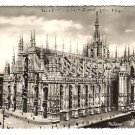 "Real Photo Postcard of ""Duomo di Milano"", Italy, 1940's"