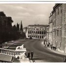 "Real Photo Postcard (RPPC) of ""Via del Mare"", Rome, Italy, 1940's"
