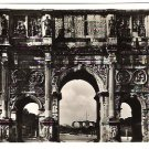 "Real Photo Postcard (RPPC) of ""Arco di Costantino"", Rome, Italy, 1940's"
